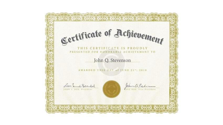 Certificate 4